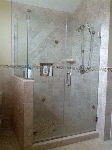 custom shower doors simple tips for custom shower doors installation bath decors