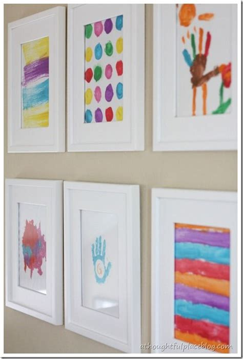 17 Best Ideas About Hanging Kids Artwork On Pinterest