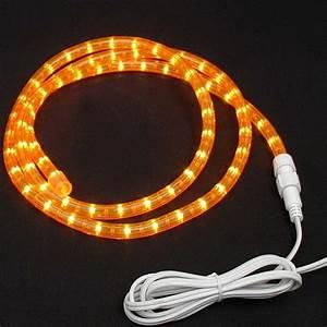 2 5 V Christmas Light Bulbs Replacement Custom Amber Rope Light Kit 120v 1 2 Quot Novelty Lights