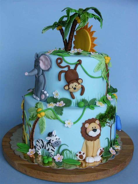 ideas  jungle cake  pinterest jungle
