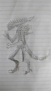 How To Draw A Xenomorph  12 Steps  With Pictures