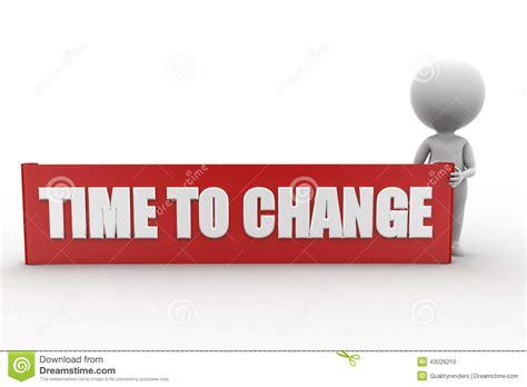 man time  change stock illustration illustration