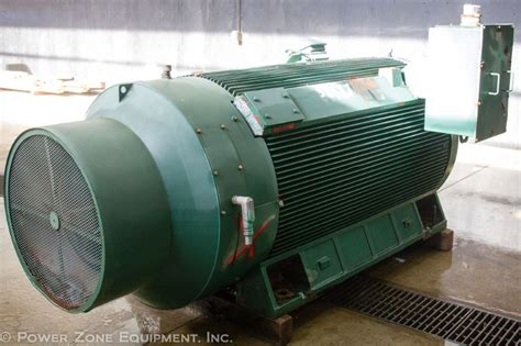 Electric Motors For Sale by Used 1200 Hp Horizontal Electric Motor Teco Westinghouse