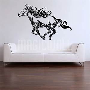 Horse wall decals 2017 grasscloth wallpaper for Horse wall decals
