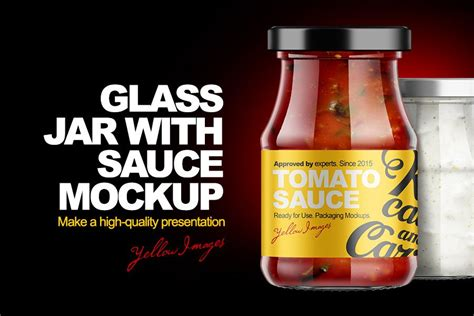 All free mockups include smart objects for easy edit. Free Hot Sauce Bottle Mockup