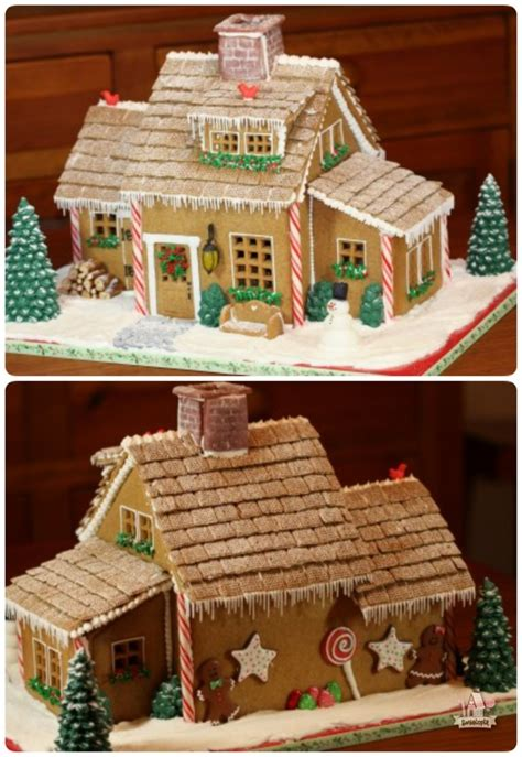 simple gingerbread house designs christmas gingerbread house ideas sweetopia