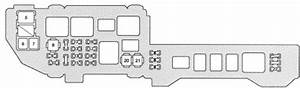 Lexus Es300  1997  - Fuse Box Diagram