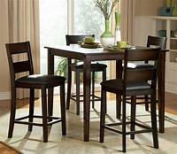 high table and chairs High Top Table Sets to Create an Entertaining Dining Space ...