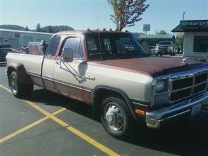 1993 Dodge D350 Diesel 2wd Dually Long Bed 5 9l Cummins