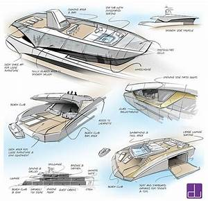 Motor Yacht Sketching Cerca Con Google Boat