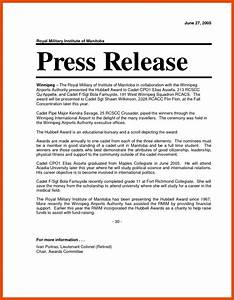 6 7 press release format sopexample With ap press release template