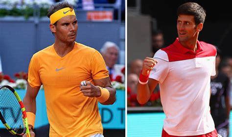 Rome 2018 Djokovic Nadal