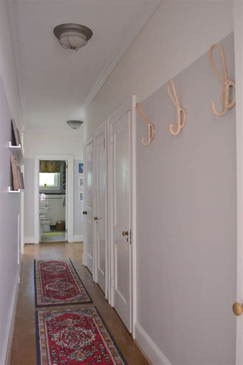 hallway  painted walls sherwin williams alpaca ikea