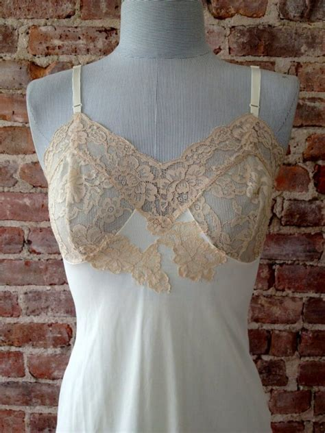 12 Beautiful Vintage Slips from Etsy | The Lingerie Addict