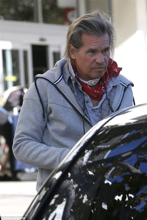 Val Kilmer Spotted With Breathing Aid After Saying