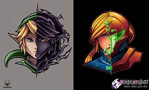 Link and Samus by Pertheseus on DeviantArt