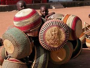 African, Market, Baskets