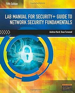 Lab Manual For Security  Guide To Network Security