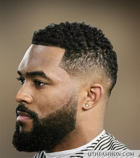 tapered haircut  black men bentalasaloncom