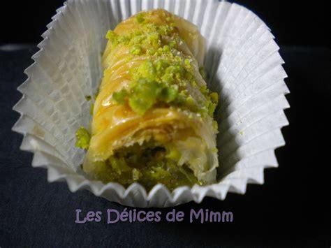baklavas rolls aux pistaches recette libanaise les d 233 lices de mimm