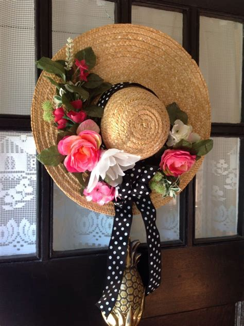 unique spring wreath ideas   front door