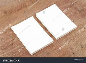 Blank Paper Empty Space Mock On Stock Photo 369817256 ...