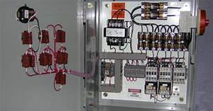Rangkaian Kontrol Motor Listrik 3 Fasa Hidup Mati