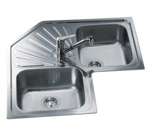 cing kitchens with sinks teka angular 2b 1d inset sink kitchen king 5097