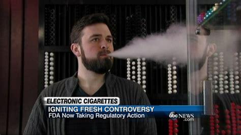 Fda Announces Plan To Regulate Ecigarettes Video  Abc News