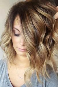 Balayage Cheveux Frisés : le balayage caramel colorations magnifiques pour tous les types de cheveux obsigen ~ Farleysfitness.com Idées de Décoration
