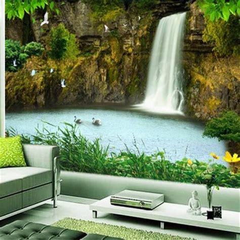 keren  wallpaper dinding air terjun richa