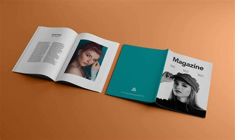 Download open folder mockup psd. Free A4 Title & Inner Pages Magazine Mockup PSD - Good Mockups