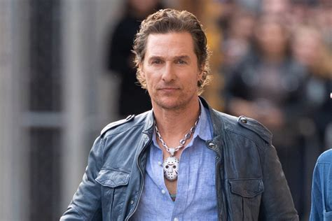 Why Matthew Mcconaughey Wearing Jason Mask Necklace