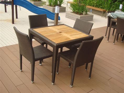 teak outdoor furniture outdoor tables hawaii teaktop table