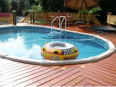 Swimming Pool Ideas With Deck Above Around Pools With Decks In A Vintage Mood Modern Look Wooden