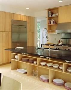 Cuisine Avec Ilot : cuisine en l moderne avec lot en 108 photos magnifiques ~ Melissatoandfro.com Idées de Décoration