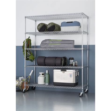 commercial grade kitchen faucets 5 tier heavy duty wire 60 in x 24 in x 72 in