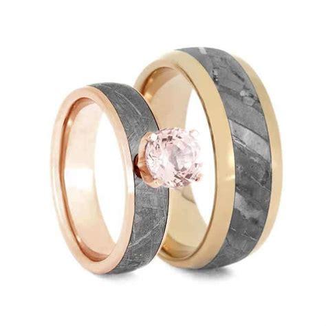 mother  pearl  titanium ring wedding band set