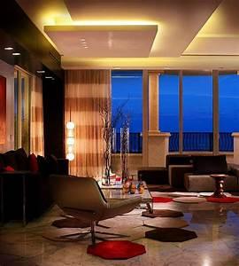 Deckenlampe Für Wohnzimmer : led deckenlampe 43 moderne vorschl ge ~ Frokenaadalensverden.com Haus und Dekorationen