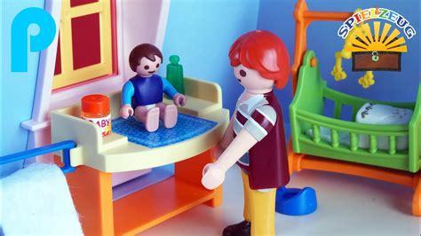 Niedliches Babyzimmer Fürs Puppenhaus Playmobil 5304