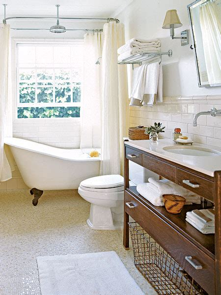Ideas For Bathrooms With Clawfoot Tubs by Clawfoot Tub Bathroom Design Cottage Bathroom My