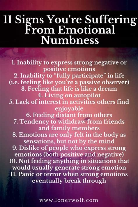 13 Signs You're Struggling With Emotional Numbness (the. Scorpio Signs Of Stroke. Lymphoma Immunosuppressive Signs. Floor Guide Signs Of Stroke. Type 69 Signs Of Stroke. Irritable Bowel Signs. Madness Signs. Track Signs Of Stroke. Angel Demon Signs Of Stroke