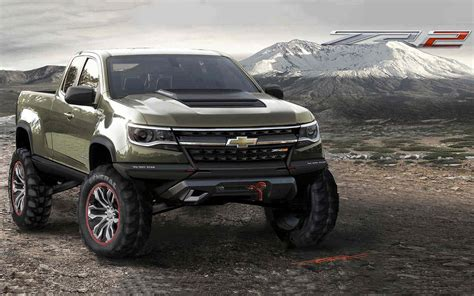Chevrolet 2019 : 2019 Chevy Colorado Zr2 Concept Rumors, Changes, Release