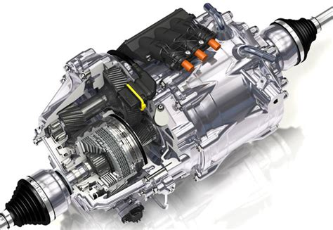 Electric Motor Axle by Charged Evs Gkn S New Torque Vectoring Axle Combines An