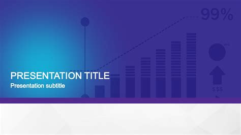 animated flat business powerpoint template slidemodel