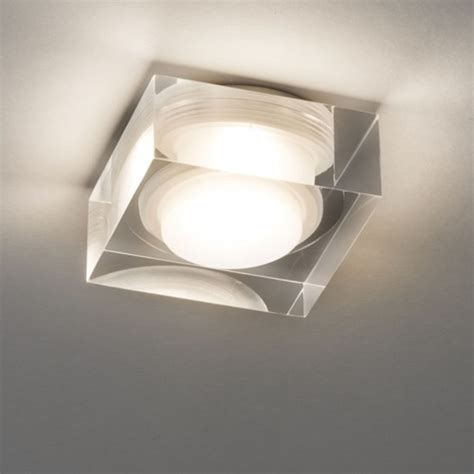 Attractive Small Sqare Led Recessed Bathroom Downlight, Ip44