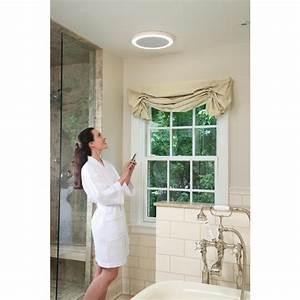 Bluetooth Speaker Bath Fan Led Light Exhaust Ventilation