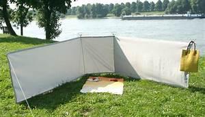 Windschutz Strand Stoff : mobiler sicht und windschutz paravent f r camping sichtschutz mobil ~ Sanjose-hotels-ca.com Haus und Dekorationen