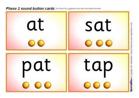 phase  sound button word cards sb sparklebox