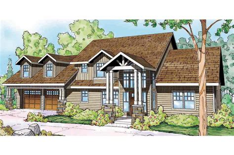Lodge Style House Plans-grand River-associated